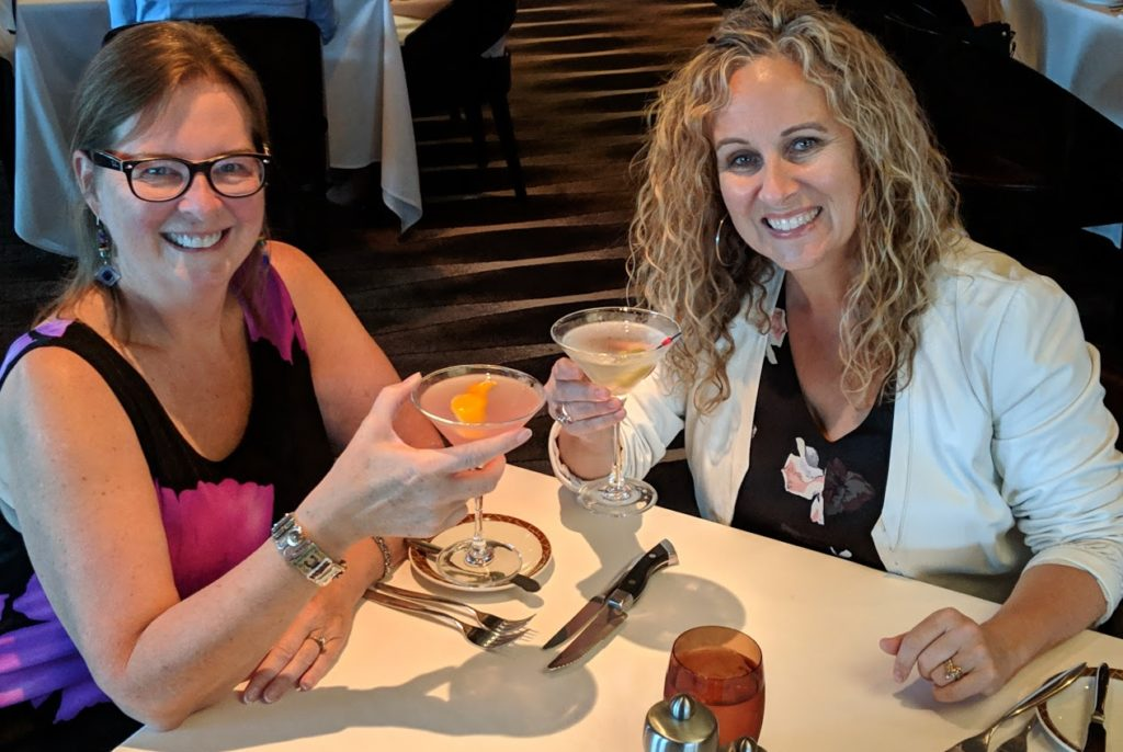 Norwegian Joy review -- special dining experience at Cagney's Steakhouse.