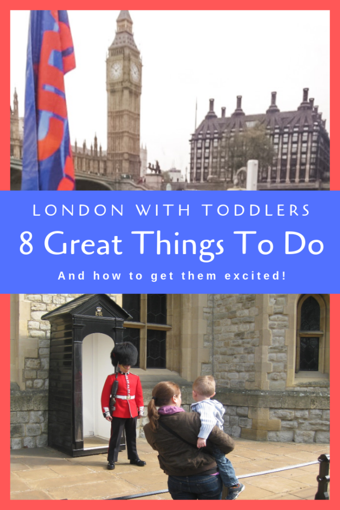 Things to do in London with kids and toddlers. We have have travel tips and things to add to your itinerary. #london #travel #familytravel
