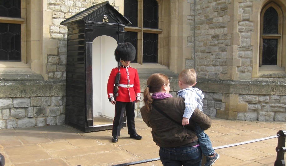 Kids will love seeing the Yeoman Warders at the Tower of London
