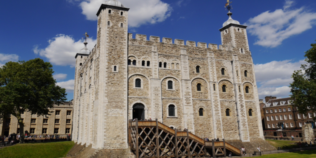 Kids will love seeing the Tower of London.