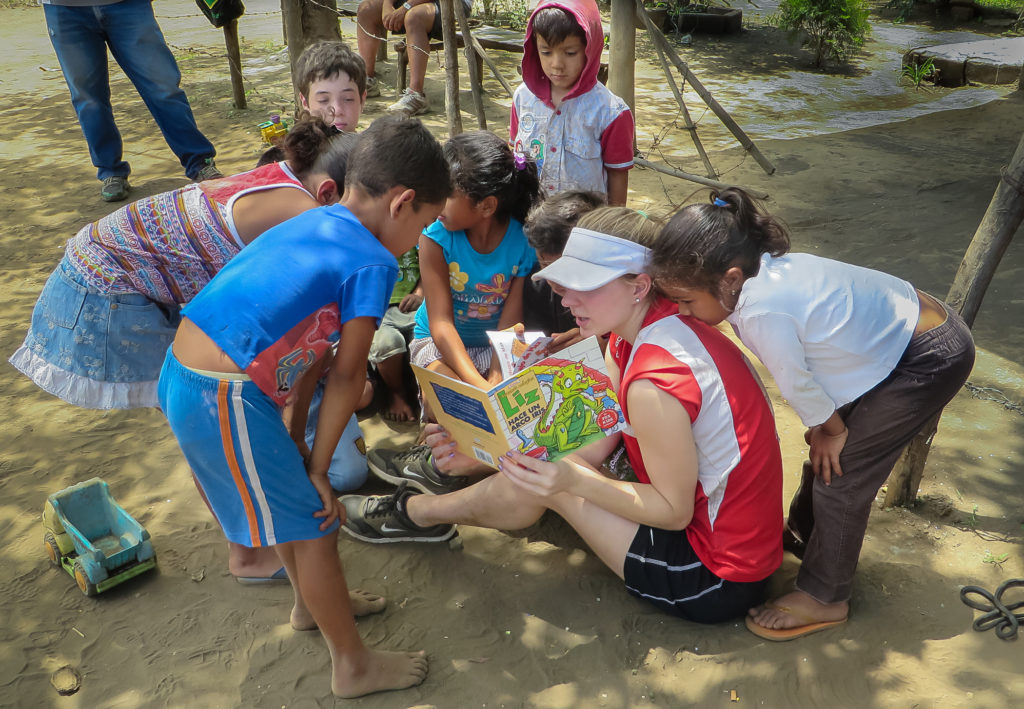 Voluntourism - reading.
