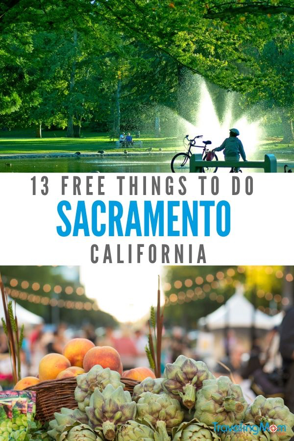 As the state capitol of California, Sacramento offers days of free family fun, like the state capitol, two different rivers and lots of park space to roam. And don't forget to the arts and foodie scene, both offering free events perfect for the littlest fans. Read on for the best free things to do in Sacramento. #Sacramento #free