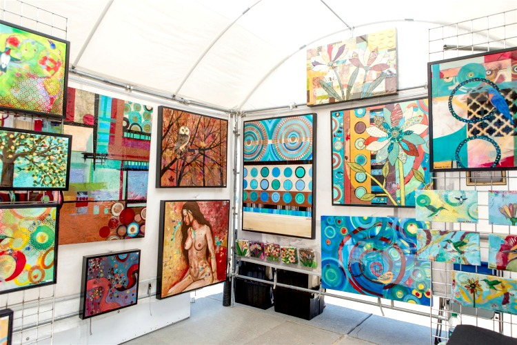 There are so many free things to do in Virginia Beach, including this amazing Art Festival!