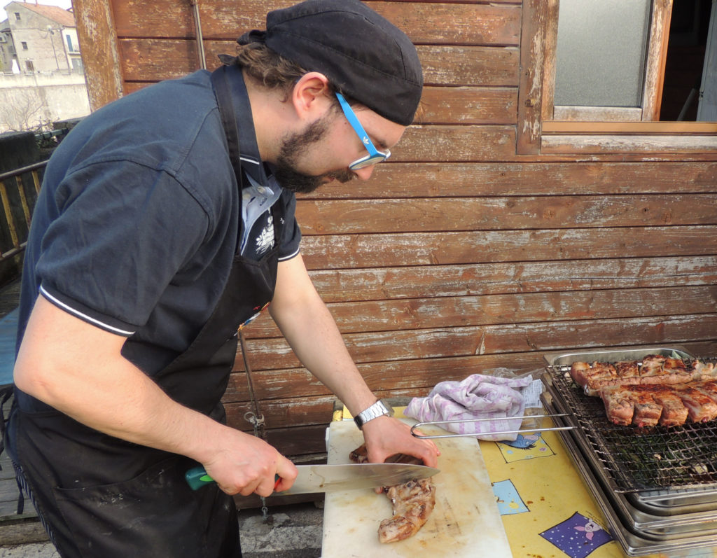 Talented chef on the barge and bike tour of Italy