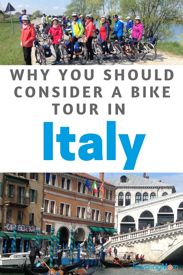 If you're visiting the country, consider taking a bike tour of Italy to explore and see the sights.