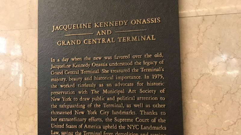 Did you know Jackie O helped save Grand Central in New York?