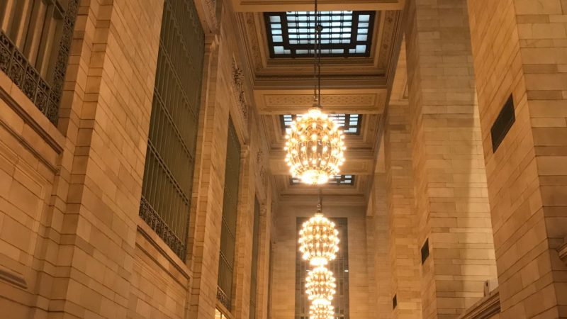 Marble at Grand Central in New York