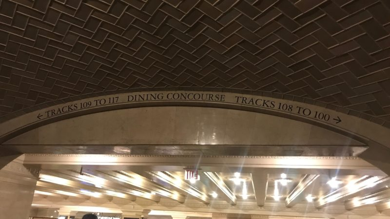 Have you see the tile in Grand Central in New York?