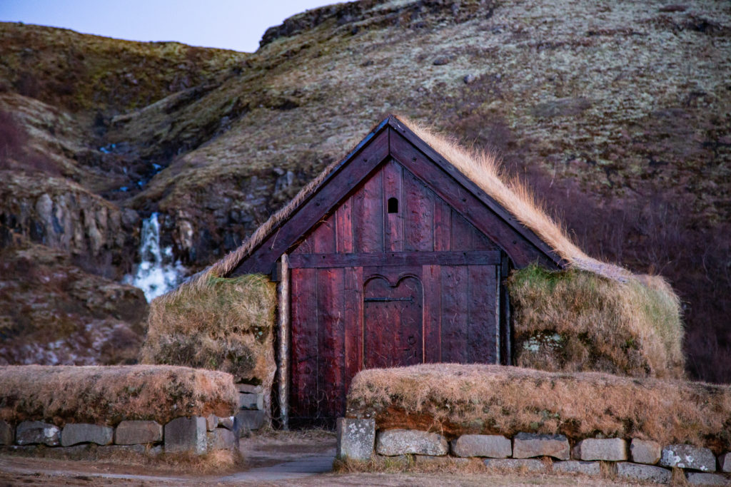 the filming location for Olly's village in the North in Iceland.