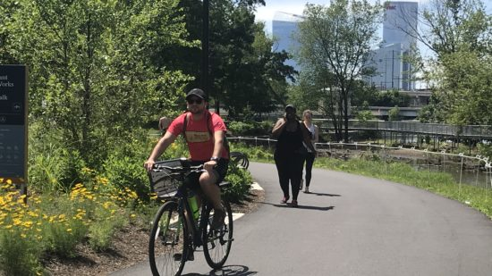 Biking in Philadelphia