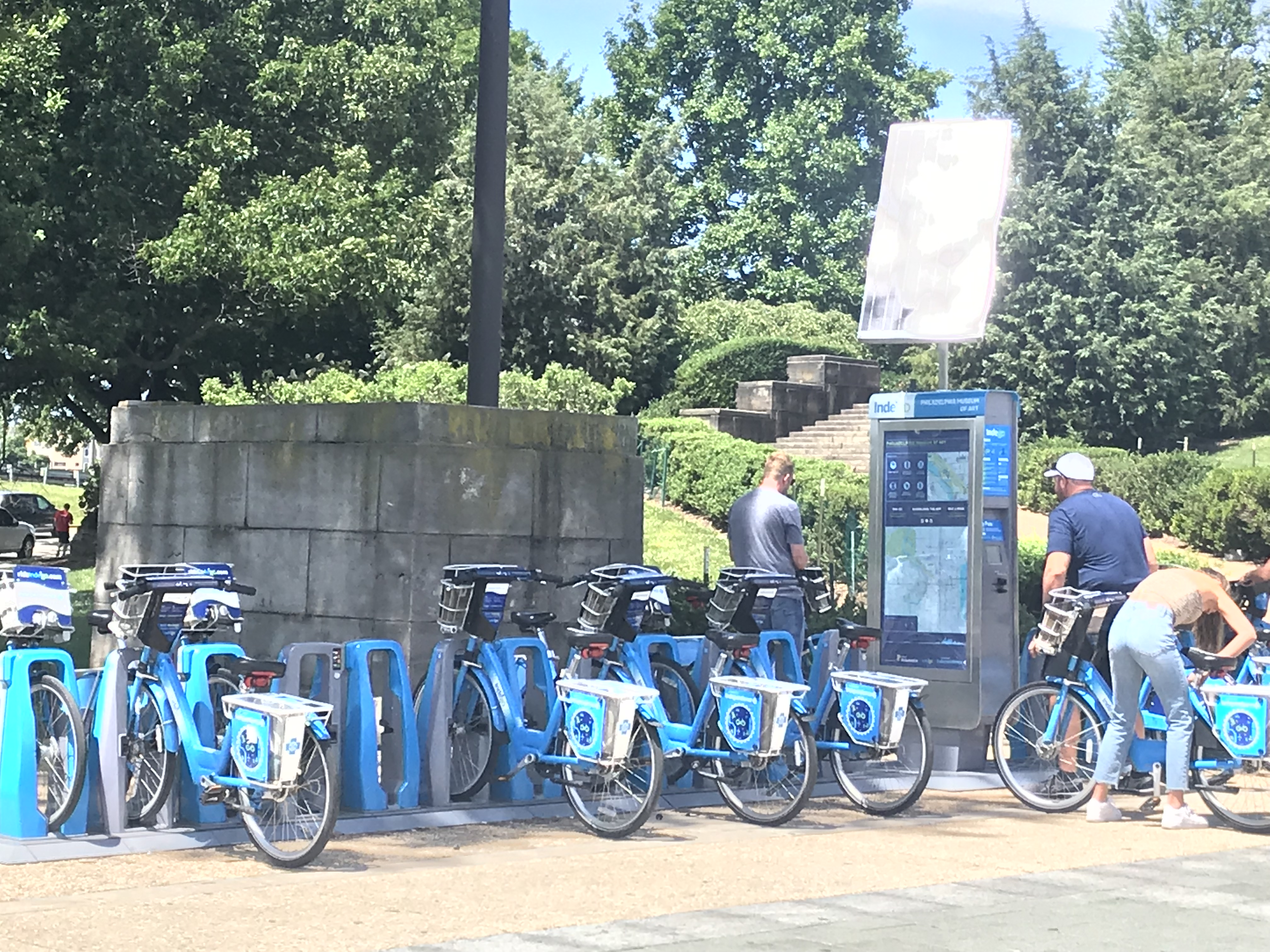 Need to a borrow a bike to go bike riding in Philly? Try Indego.