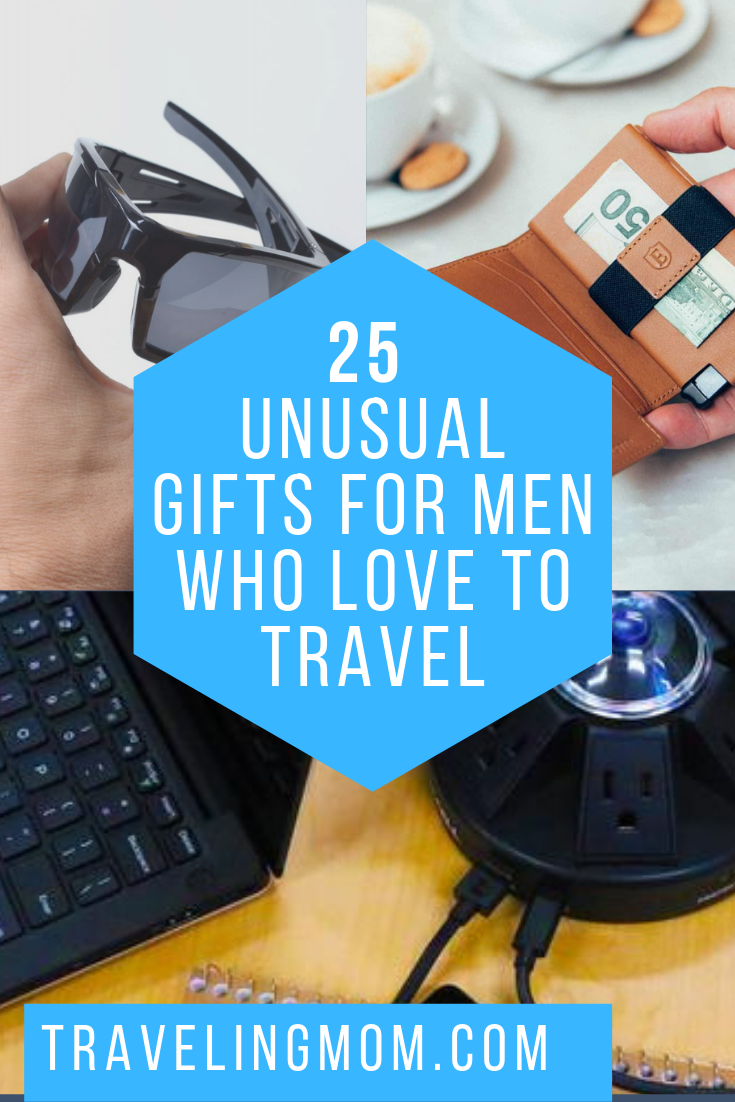 These unusual gifts for men who love to travel are sure to be a hit with any men on your list!