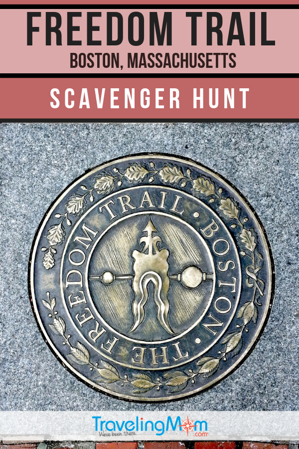 Make US history fun with this curated Boston scavenger hunt along the Freedom Trail. #TMOM #Boston #FreedomTrail #Massachusetts | TravelingMom | Massachusetts | Walking Tour | Travel with Kids | Budget Travel