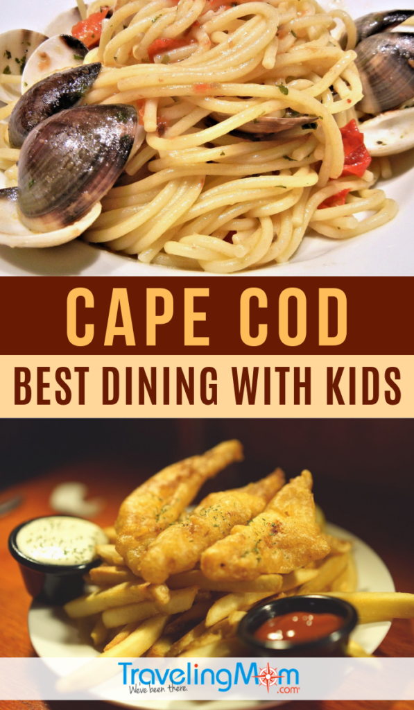 The best family dining in Cape Cod offers delicious flavors of the New England area with menus that kids will enjoy. #TMOM #CapeCod #Massachusetts | Restaurants | Family Travel | Travel with Kids