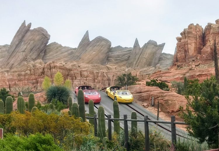 Disneyland vs. Disney World: Radiator Springs Racers is only in Cali