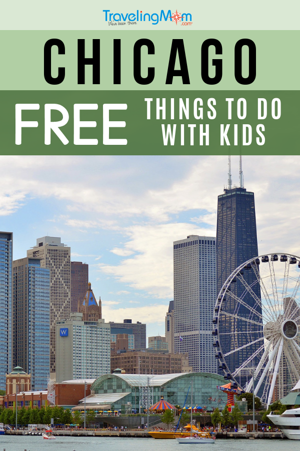 If Chicago is on your family vacation list, check out this TravelingMom list of FREE things to do in Chicago with kids! #TMOM #Chicago #Freein50States #BudgetTravel | Family Travel | Travel with Kids