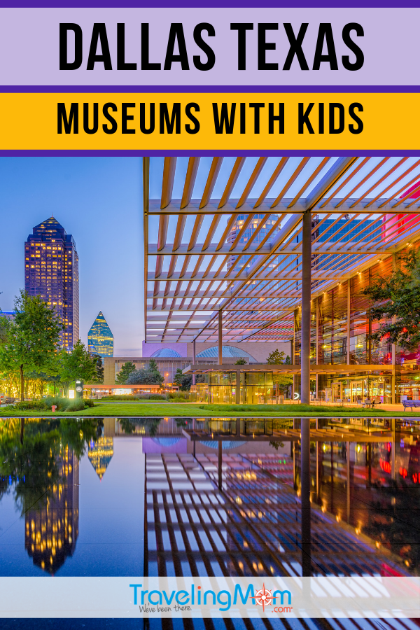 "Dallas Museums: Think outside the ""children's museum box"" and explore some of the other museums that kids will enjoy in Dallas Texas. #TMOM #Dallas #Texas #Museums"