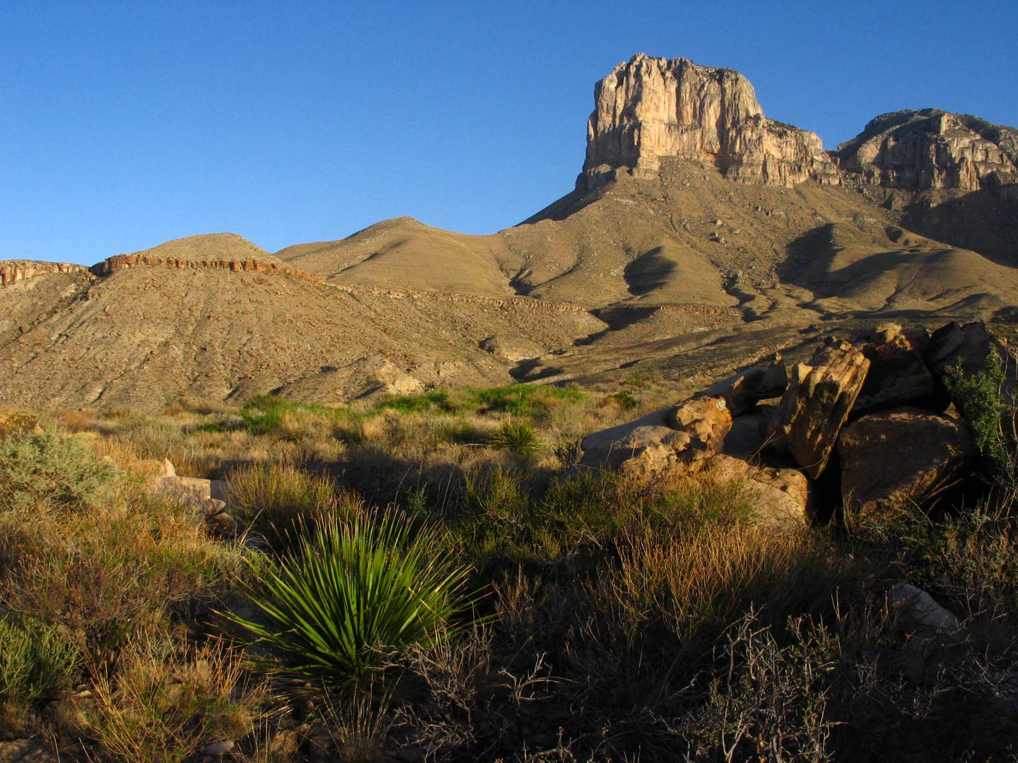 Guadalupe Mountains is one of many national parks in Texas to explore.