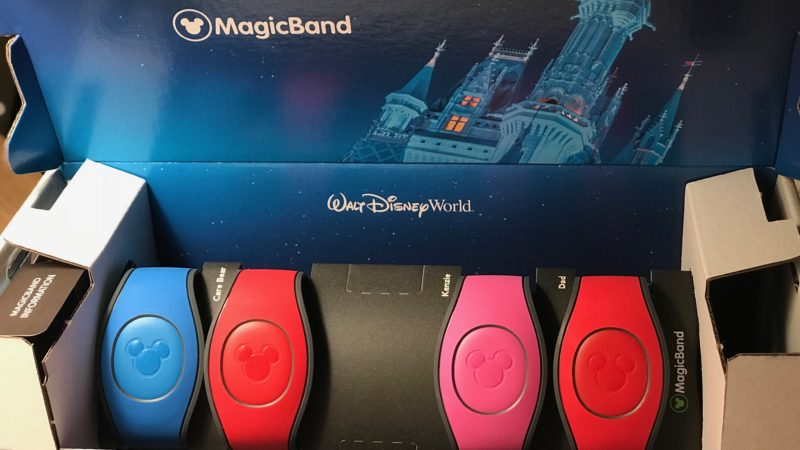 Solid colored MagicBands can arrive at your home before your trip begins to Walt Disney World.