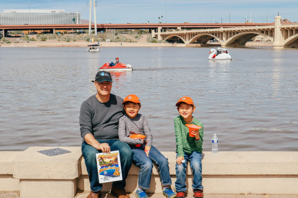 one of the this to do with kids in Tempe AZ is to check out Tempe Beach Park