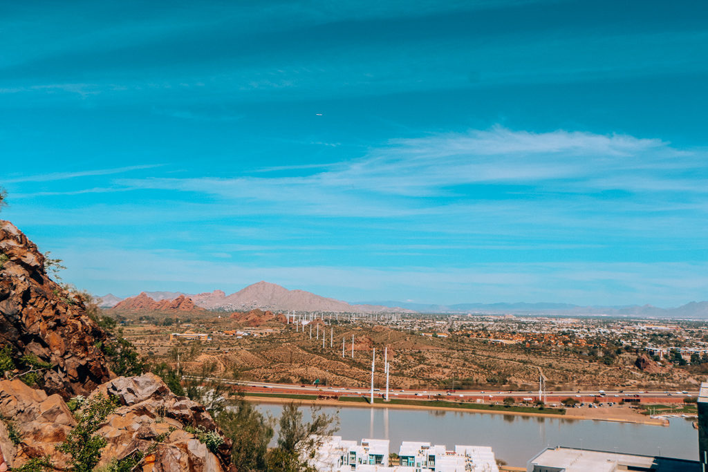 Hiking A Mountain should be on your list of things to do with kids in Tempe AZ