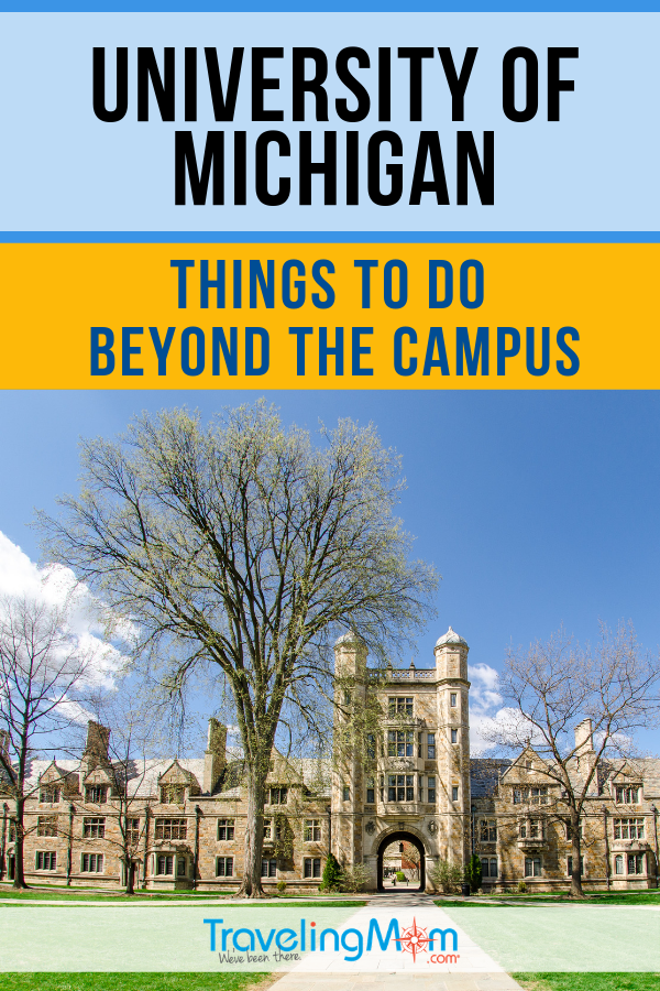 Once you're done exploring the University of Michigan, what else is there to do in surrounding areas? Check out these things to do beyond the college campus. #TMOM #Michigan | TravelingMom