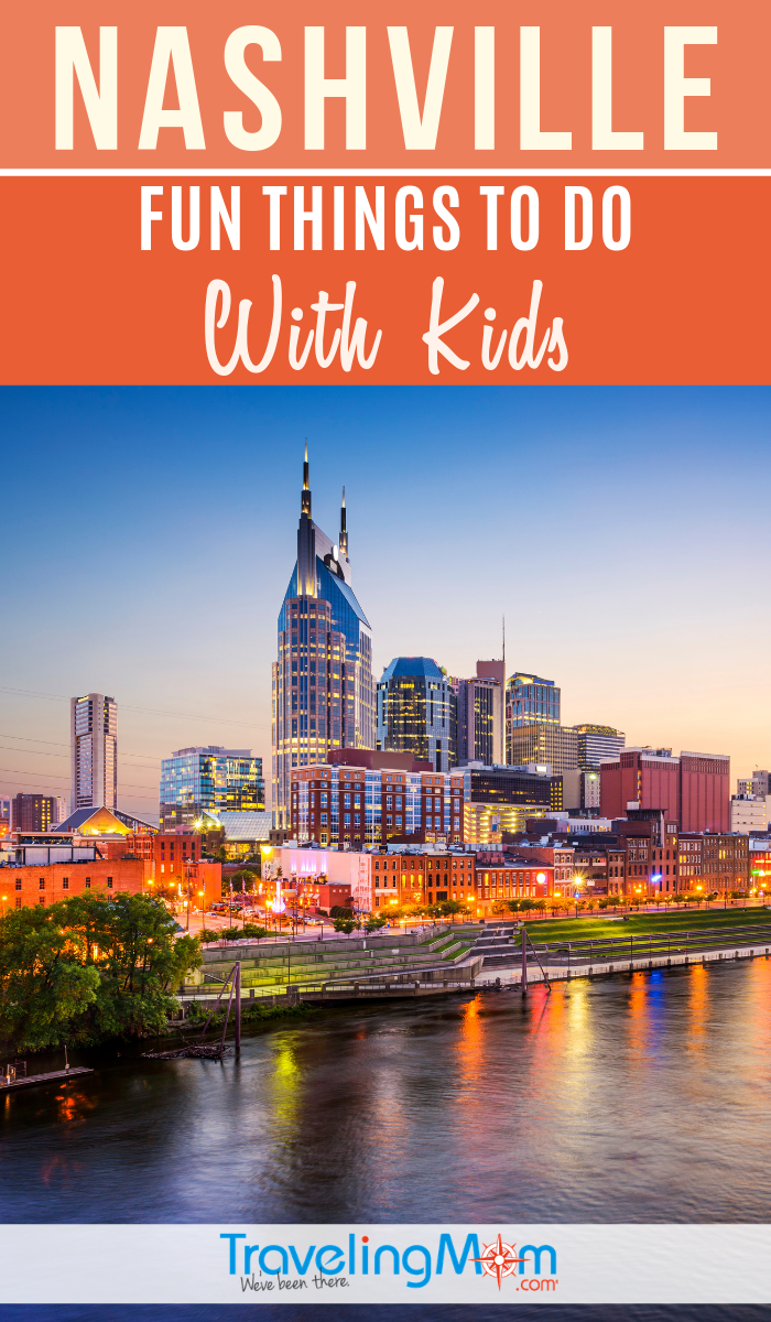 Nashville is a lively city filled of fun things to do with kids! Check out these family travel tips for Tennessee with kids. #TMOM #Nashville #Tennessee | TravelingMom