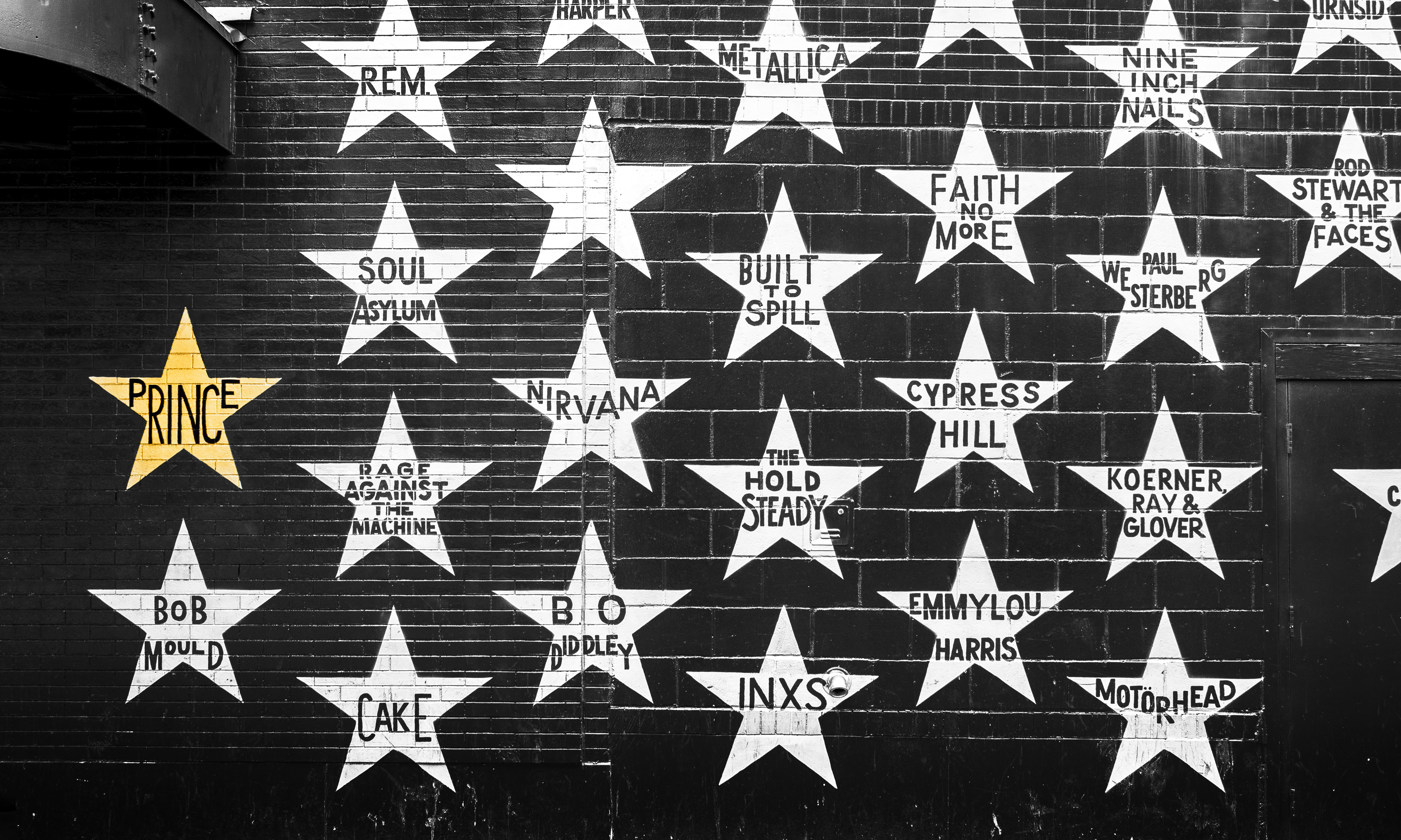 The Prince star at First Avenue in Downtown Minneapolis is just one more thing to do and see.