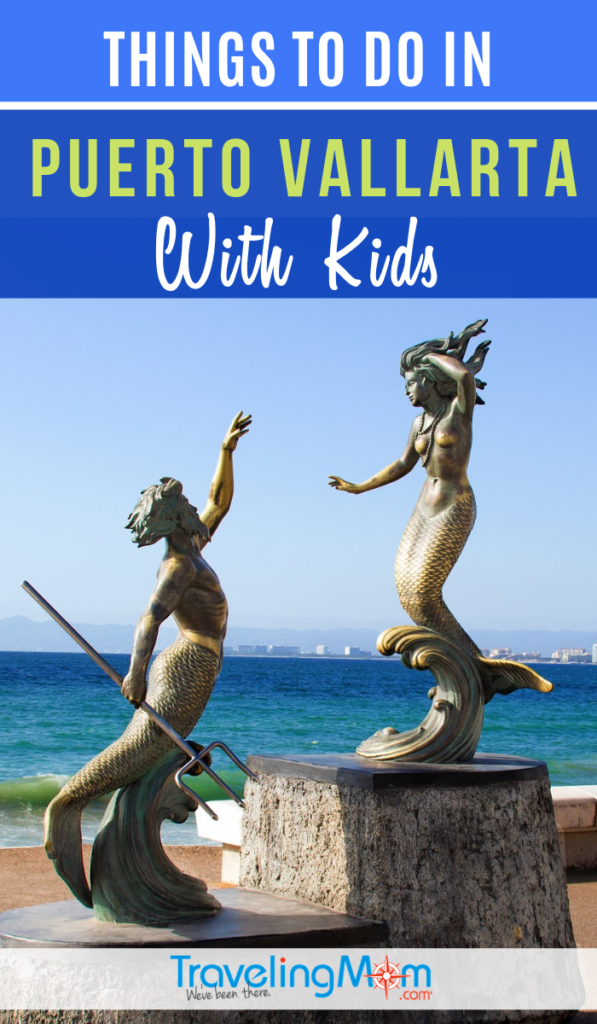 Families traveling to Puerto Vallarta will have plenty of entertainment options with kids! This popular beach city in Latin America is great for family travel #TMOM #PuertoVallarta #BeachTravel | TravelingMom