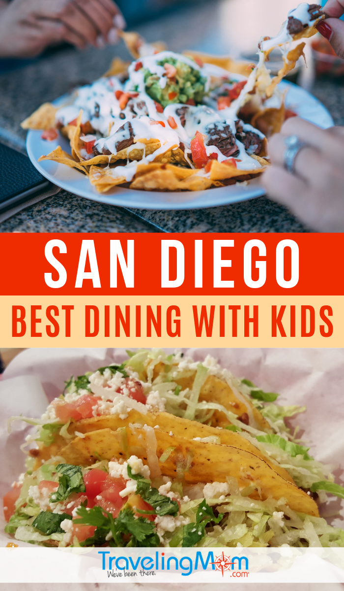 These are the best family dining locations in San Diego, offering delicious flavors of the Southern California area with menus that kids will enjoy. #TMOM #SanDiego #California | Restaurants | Family Travel | Travel with Kids