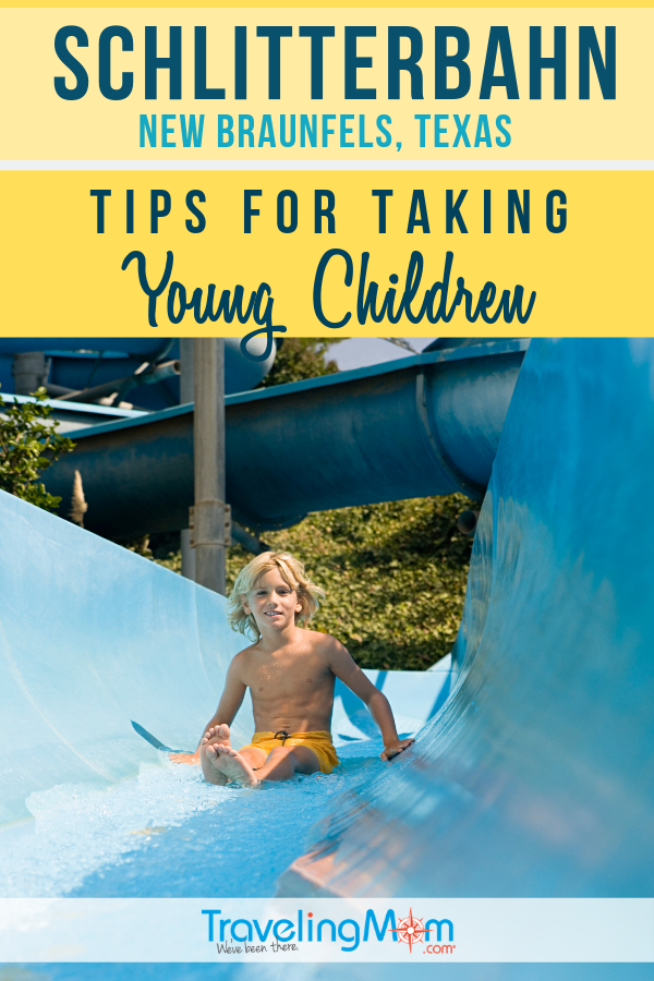 Schlitterbahn in New Braunfels TX is an awesome family water park but what's there for kids under 10? Check out these tips for taking younger kids to this Texas waterpark. #TMOM #Texas #Schlitterbahn | TravelingMom | Summer Travel | Travel with Kids