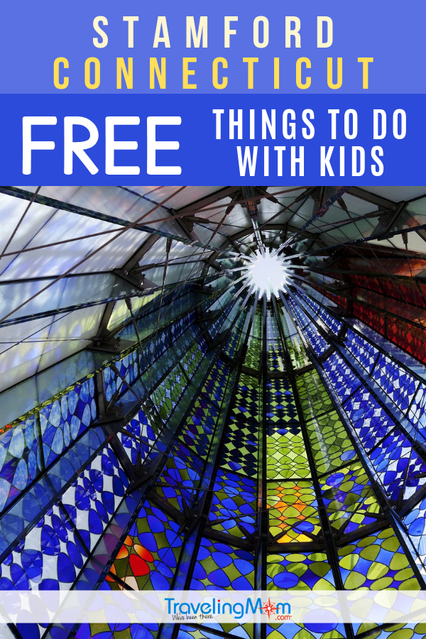 There are some great FREE things to do with kids in Stamford Connecticut! Younger children will love the parks and gardens while older kids and teens will enjoy the art focus and historical learning to be had in this east coast city. #TMOM #Stamford #Connecticut #Freein50States | Budget Travel | Travel with Kids