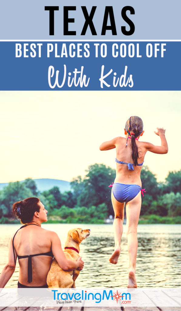 If you can't beat the heat in Texas, the best thing to do is jump in and get wet! These are the top locations in Texas to get your feet wet, including water parks, swimming holes, beaches and river floats. #TMOM #Texas #SummerTravel   TravelingMom