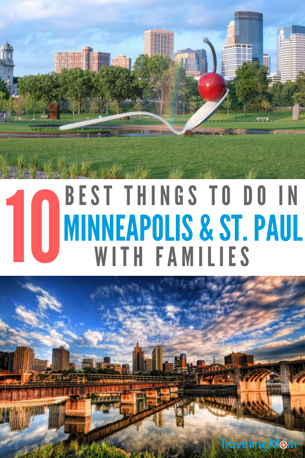 10 of the Best St Paul and Minneapolis Things to do with Families | TravelingMom