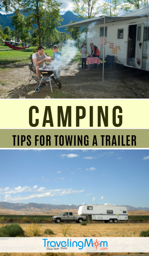 "Even if you're a ""camping newbie"" and have never towed a trailer before, we have all the tips to give you the confidence to hitch up and hit the road! #TMOM #Camping #Trailer 