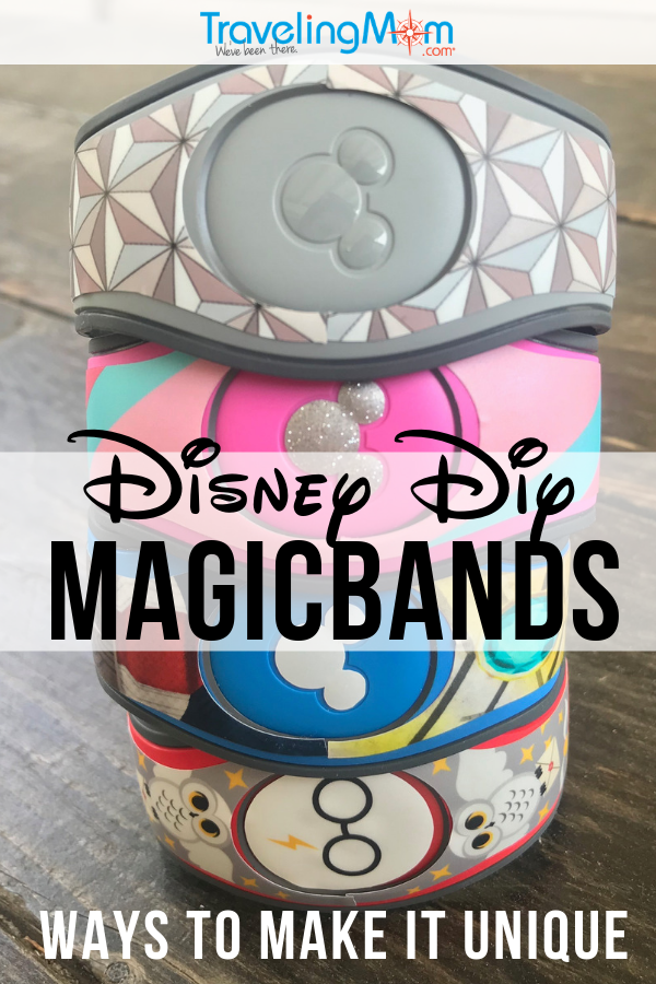 There are many creative ways to make your Walt Disney World Magicband uniquely yours! Check out these Disney DIY tips for using