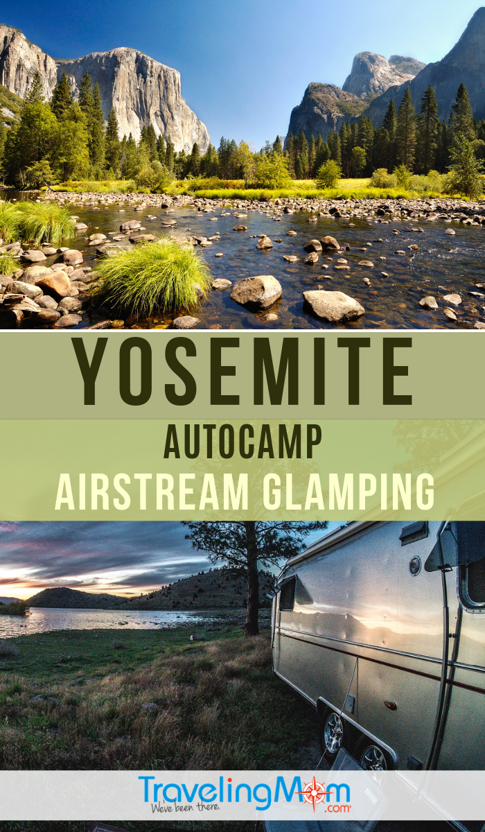 "All the luxuries and none of the ""roughing it"" of traditional camping, is Autocamp Airstream ""glamping"" worth the splurge? Find out more about the campsite in Yosemite. #TMOM #Yosemite #Airstream #Glamping 