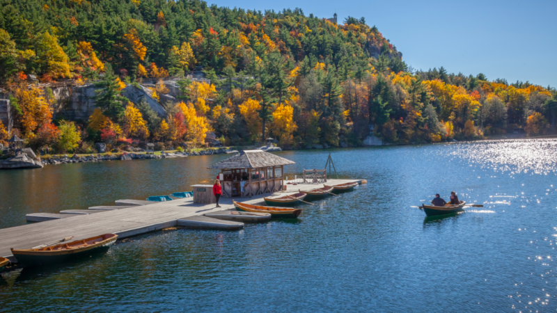 Mohonk Mountain House all inclusive family vacation