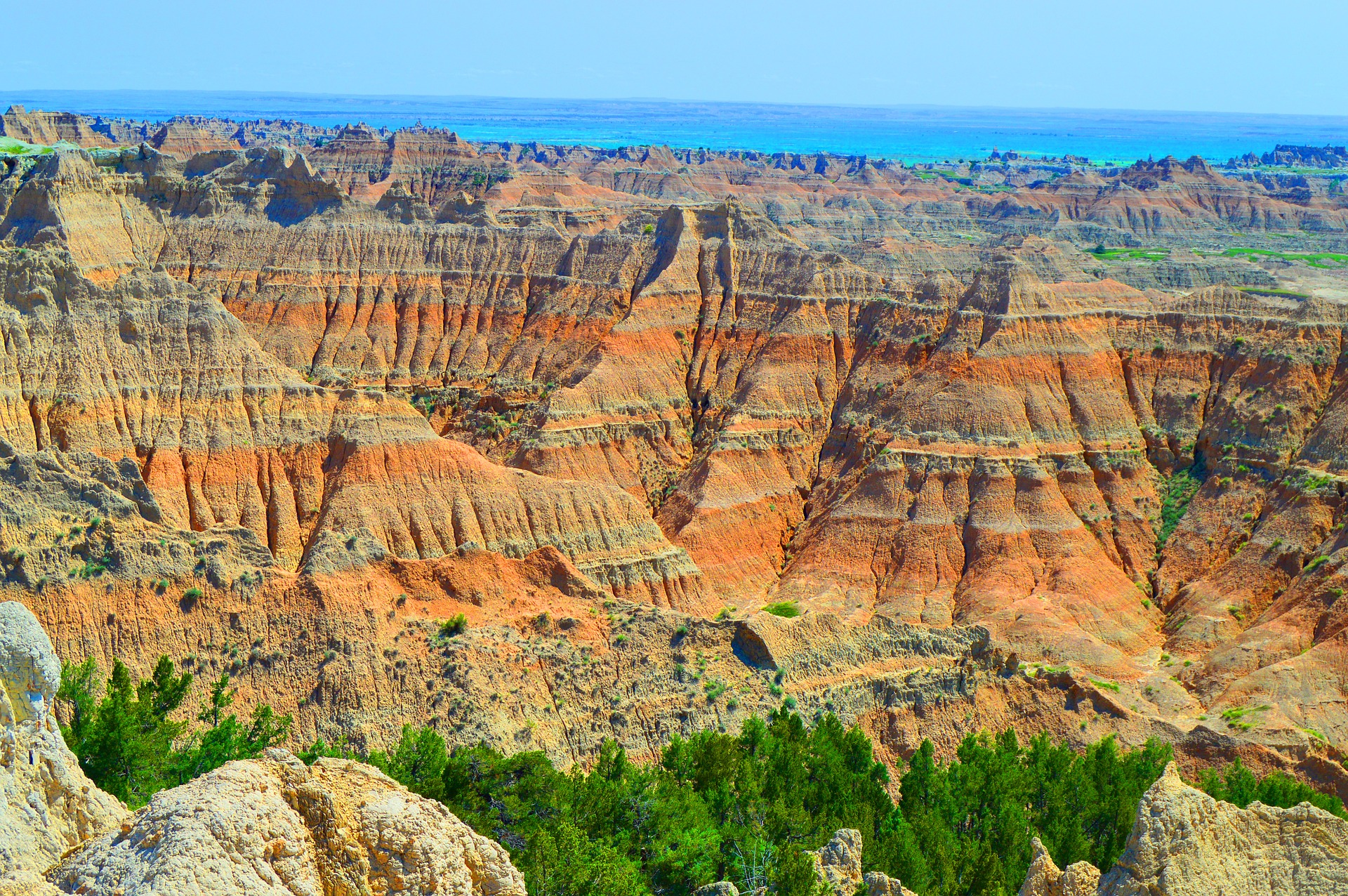 When visiting Sturgis, SD, don't miss a scenic drive to the Badlands National Par