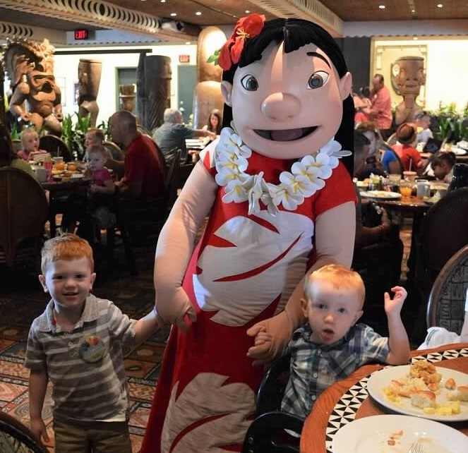 Any age is the best age for Disney World when you're planning character meals.