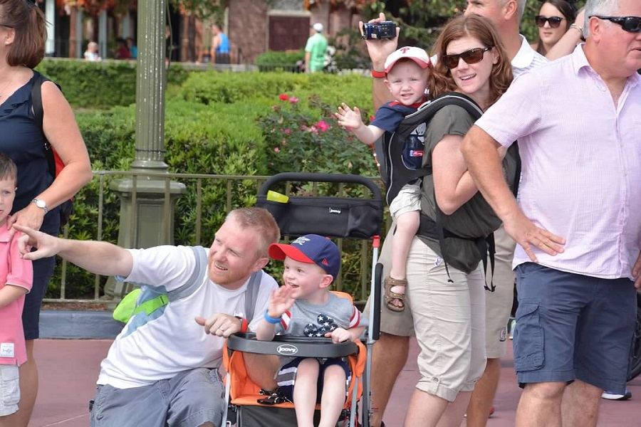 Take it slow when visiting Disney World with little ones.