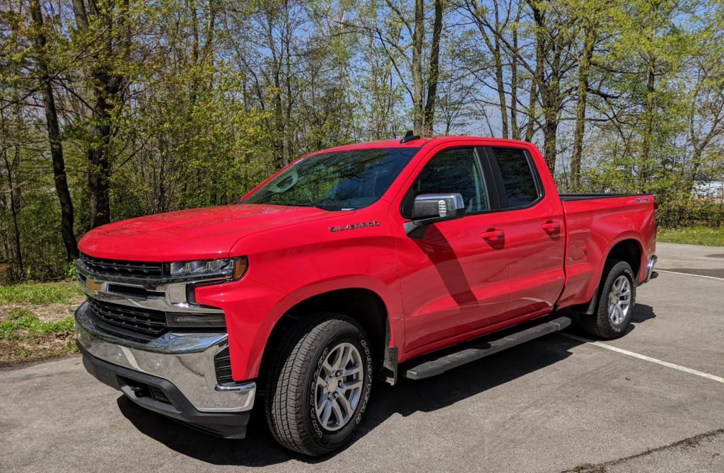 Chevy Silverado pickup is a family vehicle of the year candidate.