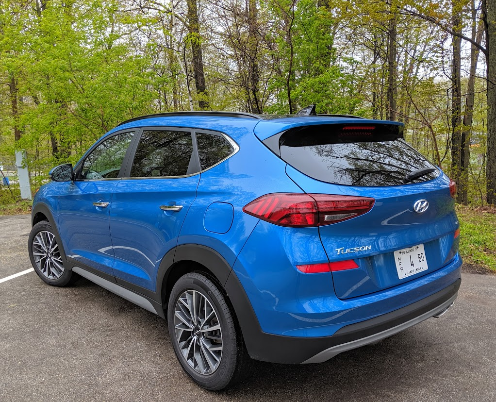 The Hyundai Tucson SUV is a family vehicle of the year candidate.