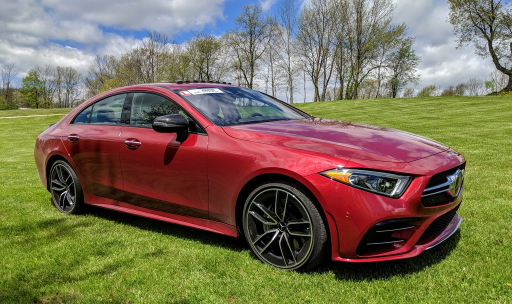 Mercedes-Benz AMG CLS 53is a family vehicle of the year contender.
