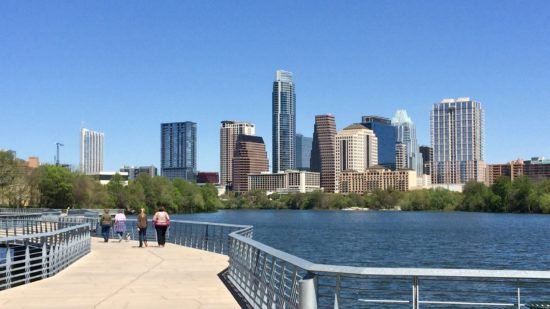 The Austin Boardwalk is one of the best free things to do in Austin