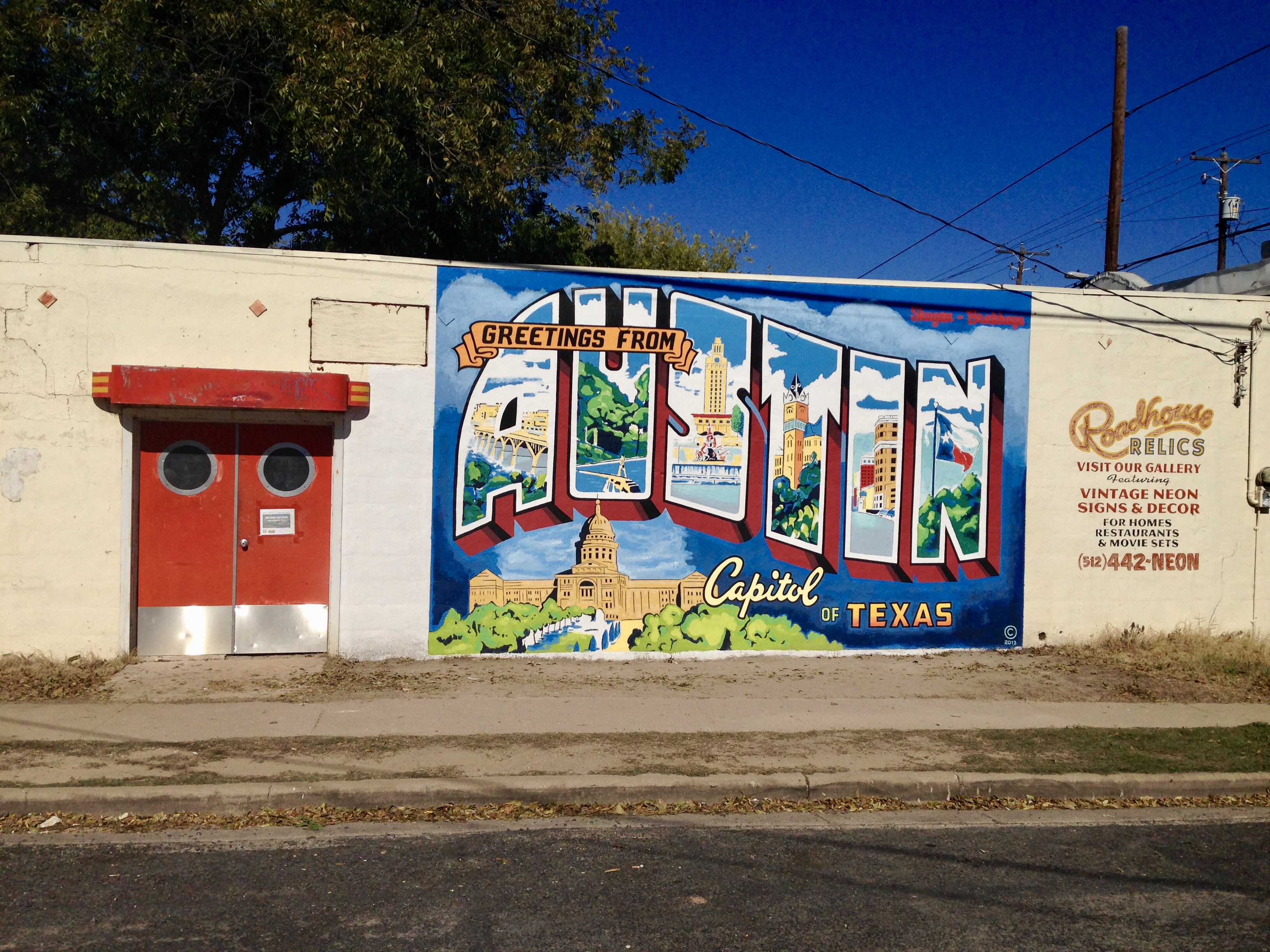 Mural located at Annie & S. 1st Street in Austin, just one of the fun free things to do in Austin.