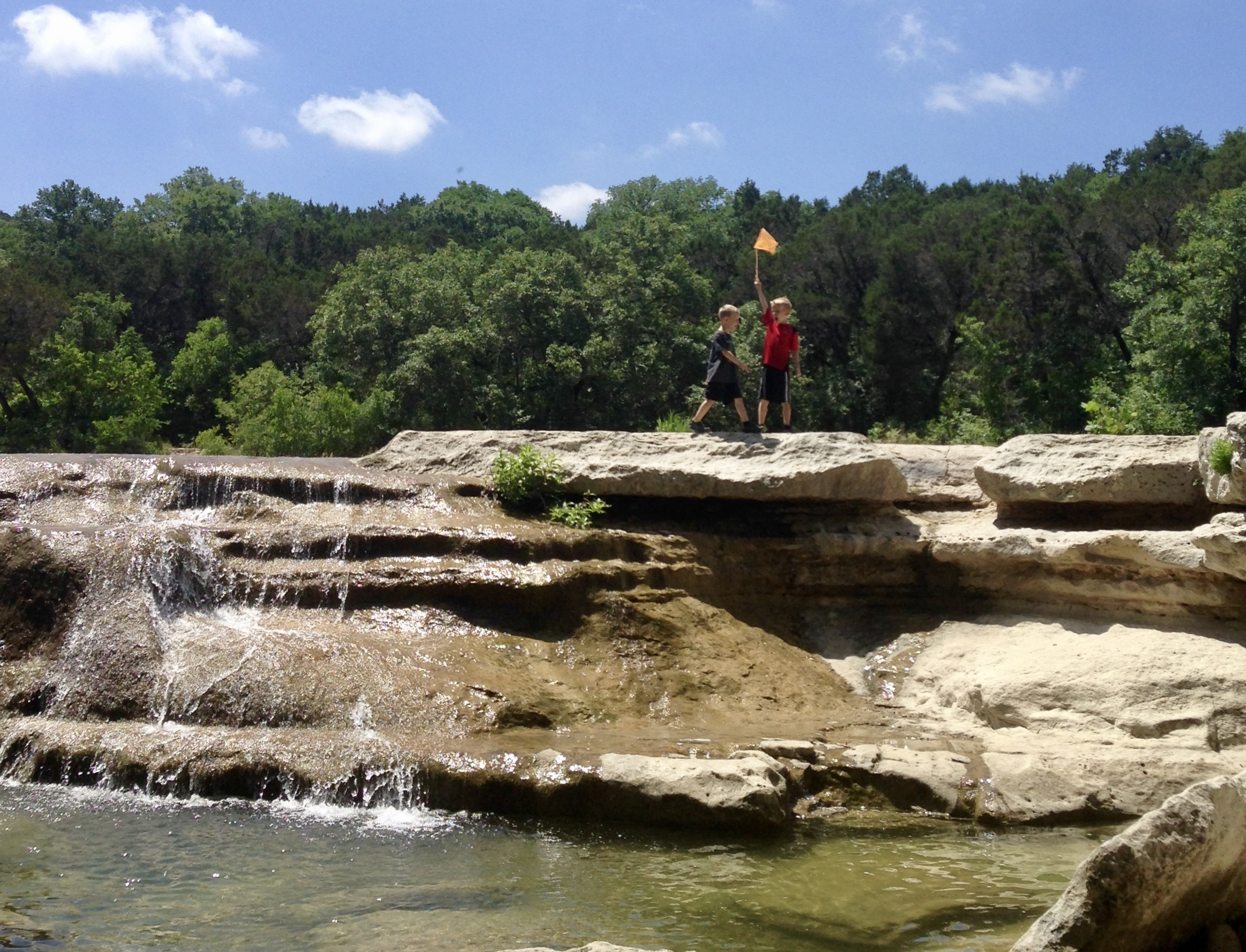 Hike along Bull Creek - it's the perfect free thing to do in Austin