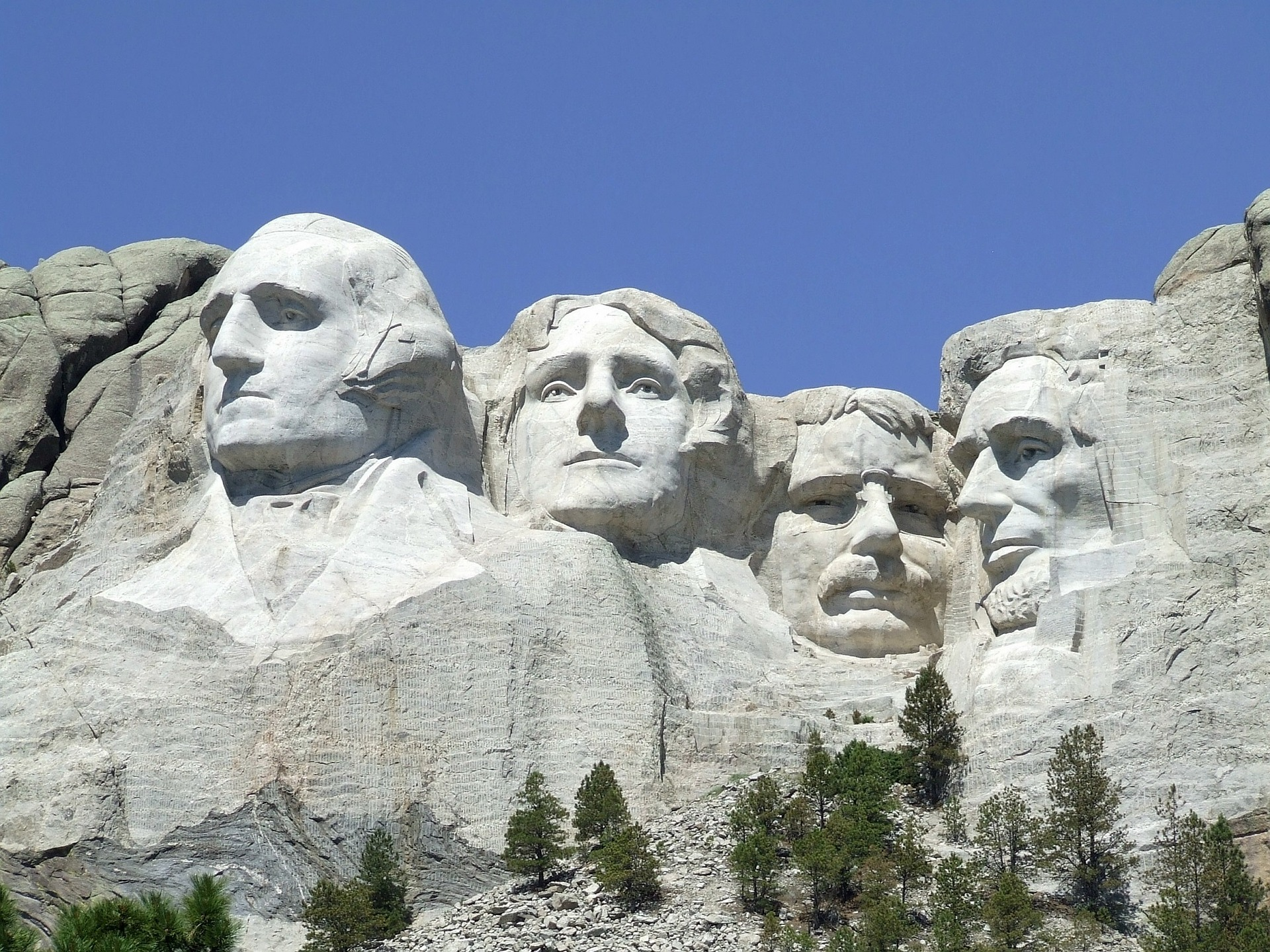 Be sure to visit Mount Rushmore National Memorial and see who can name all the Presidents.