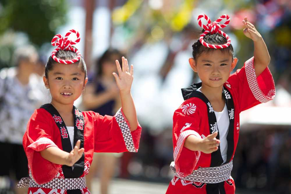 Little Tokyo in Los Angeles is a family-friendly destination