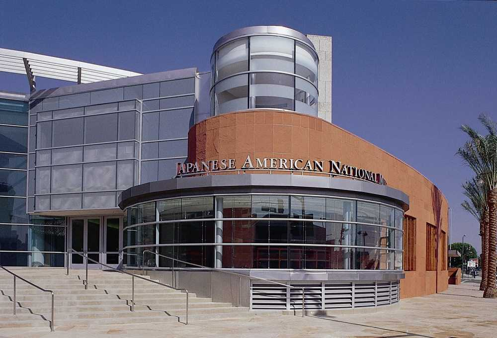 The Japanese American National Museum is located in Little Tokyo in Los Angeles.